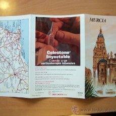 Folletos de turismo: GUÍA TURÍSTICA MURCIA. COLECCIÓN ESPAÑA MONUMENTAL. TRIPTICO. AÑO 60-70. Lote 19225407