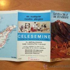 Folletos de turismo: GUÍA TURÍSTICA SANTA CRUZ DE TENERIFE. COLECCIÓN ESPAÑA MONUMENTAL. TRIPTICO. AÑO 60-70. Lote 11664421