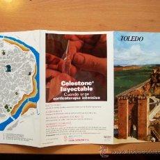 Folletos de turismo: GUÍA TURÍSTICA TOLEDO. COLECCIÓN ESPAÑA MONUMENTAL. TRIPTICO. AÑO 60-70. Lote 11664409
