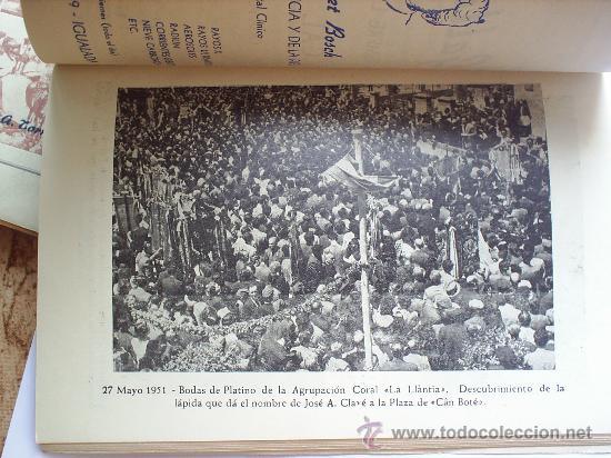 Folletos de turismo: PROGRAMA DE FIESTA MAYOR -CIUDAD DE IGUALADA-1951 - Foto 3 - 27512068