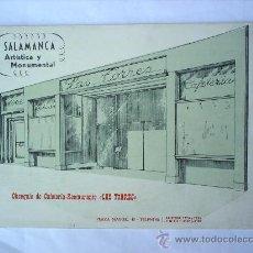 Folletos de turismo: SALAMANCA -ARTISTICA Y MONUMENTAL----LAS TORRES. Lote 26427317