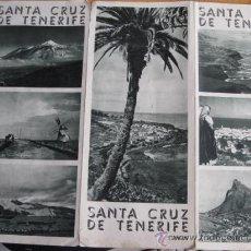 Folletos de turismo: SANTA CRUZ DE TENERIFE - TRIPTICO DE LA OFICINA NACIONAL DE TURISMO - EN FRANCES . Lote 10186684