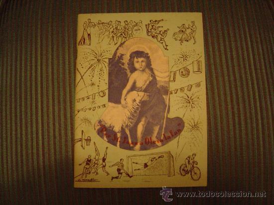 PROGRAMA FIESTA MAYOR OLESA DE MONTSERRAT 1951 (Coleccionismo - Folletos de Turismo)