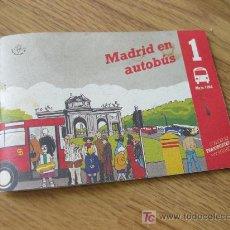 Folletos de turismo: FOLLETO CON LAS LINEAS DE AUTOBUSES - MAYO DE 1994 - MADRID EN AUTOBUS. Lote 27605148