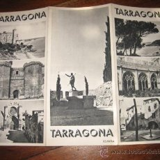 Folletos de turismo: TARRAGONA. Lote 11063970