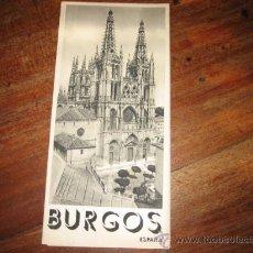 Folletos de turismo: BURGOS. Lote 11063994