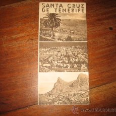 Folletos de turismo: SANTA CRUZ DE TENERIFE. Lote 11064120