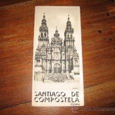 Folletos de turismo: SANTIAGO DE COMPOSTELA. Lote 11064230