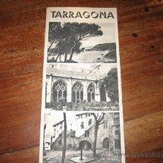 Folletos de turismo: TARRAGONA. Lote 11064275