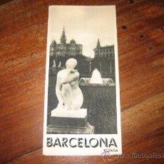 Folletos de turismo: BARCELONA. Lote 11064338
