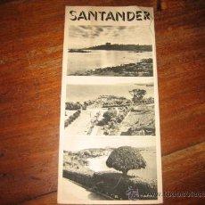 Folletos de turismo: SANTANDER. Lote 11064386