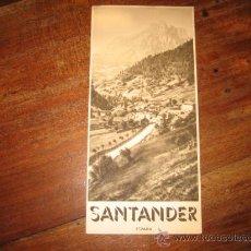Folletos de turismo: SANTANDER. Lote 11064412