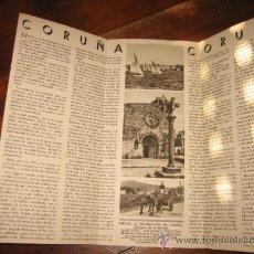 Folletos de turismo: CORUÑA. Lote 11064437
