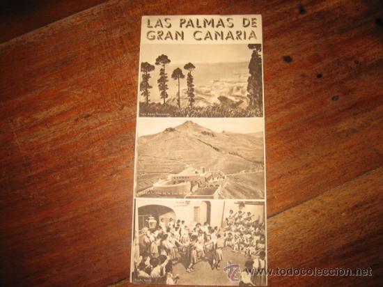 LAS PALMAS DE GRAN CANARIAS (Coleccionismo - Folletos de Turismo)