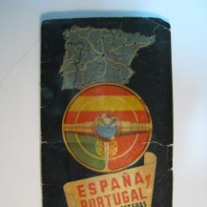 Folletos de turismo: MAPA - GUIA TURISTICA ESPAÑA Y PORTUGAL (PARANINFO). Lote 11194412