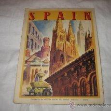 Folletos de turismo: ANTIGUO FOLLETO PUBLICITARIO DE ESPAÑA PARA EXTRANJEROS. Lote 12059566