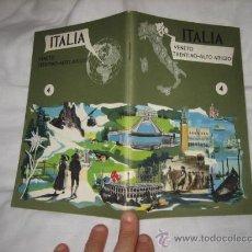Folletos de turismo: GUIA DE ITALIA VENETO TRENTINO-ALTO ADIGIO. Lote 11379393