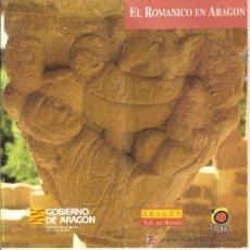 Folletos de turismo: EL ROMANICO EN ARAGON. DESPLEGABLE. MEDIEVAL.. Lote 11797675