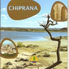 Folletos de turismo: CHIPRANA. GUIA. ARAGON. 16 PAG. MEDIEVAL.. Lote 11801613