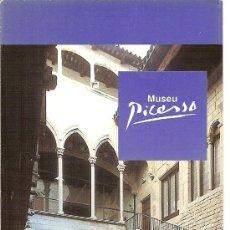 Folletos de turismo: MUSEU PICASSO. BARCELONA. CATALUNYA.. Lote 12091186
