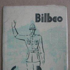 Folletos de turismo: BILBAO. GUÍA Y PLANO. AÑO 1945 - 46. CON MUCHAS FOTOGRAFÍAS. . Lote 12168568