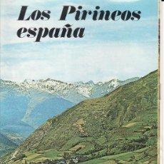 Folletos de turismo: PIRINEOS. Lote 12212865