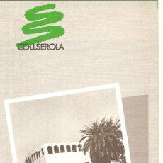 Folletos de turismo: LA SALUT DE SANT FELIU DE LLOBREGAT. COLLSEROLA. CATALUNYA. MEDIEVAL.. Lote 12228500