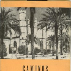 Folletos de turismo: CAMINOS DE ESPAÑA DE MALLORCA II. RUTA C. Lote 21905350