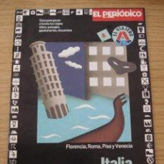 Folletos de turismo: ITALIA. GUIA EL VIAJERO #8. EL PERIODICO DE CATALUNYA. ===ENVIO GRATUITO===. Lote 26600907