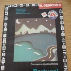 Folletos de turismo: PORTUGAL. GUIA EL VIAJERO #15. EL PERIODICO DE CATALUNYA. ===ENVIO GRATUITO===. Lote 26600943