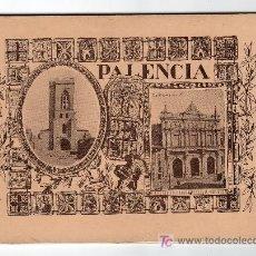 Folletos de turismo: MONUMENTOS Y TESORES ARTISTICOS DE LA PROVINCIA DE PALENCIA. PEQUEÑO CATALOGO CON 38 FOTOGRAFIAS. Lote 20036955