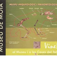 Folletos de turismo: MUSEU DE MOIÀ. CATALUNYA.. Lote 13149982