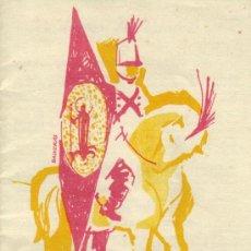 Folletos de turismo: TARRAGONA - CL INDEPENDENCIA 1811-1961 - FIESTAS DE SAN MAGÍN - 9 AL 20 AGOSTO 1961. Lote 27507600