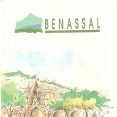 Folletos de turismo: BENASSAL. DESPLEGABLE, CON MAPA TURISTICO. Lote 14469744