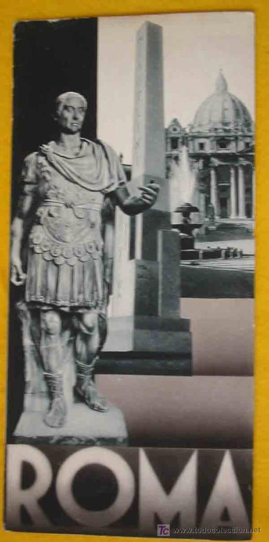 FOLLETO TURÍSTICO : ROMA. 1934. ENIT (Coleccionismo - Folletos de Turismo)