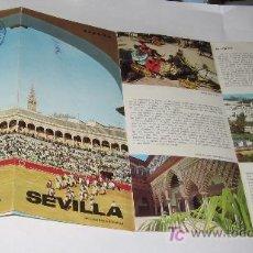 Folletos de turismo: SEVILLA - FOLLETO TURISTICO.. Lote 14971422