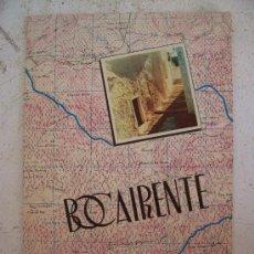 Folletos de turismo: FOLLETO GRAN FORMATO SOBRE BOCAIRENTE / BOCAIRENT (VALENCIA) ,AÑOS 60 (14 PAGINAS ,33X22,5CM APROX). Lote 20805840