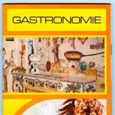 Folletos de turismo: ESPAGNE - GASTRONOMIE (FOLLETO EN FRANCÉS) 1974. Lote 15845046