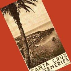 Folletos de turismo: TRIPTICO TENERIFE. 1940. LOS PRIMEROS FOLLETOS TURISTICOS DE DICTADURA. ENVIO 1 €.. Lote 27261328