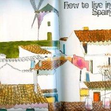 Folletos de turismo: HOW TO LIVE IN SPAIN - FOLLETO TURÍSTICO EN INGLÉS (1974). Lote 20112272