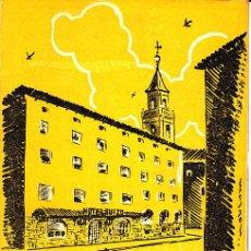 Folletos de turismo: PS3343 HOTEL SUIZO - SAN HILARIO SACALM - FOLLETO CON MAPA DE GERONA. 8X 13 CM.. Lote 17018063