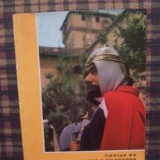 Folletos de turismo: COCENTAINA - 1967 - MOROS Y CRISTIANOS, LIBRO FIESTAS. Lote 22705078