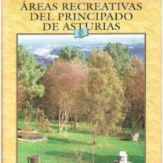 Folletos de turismo: ÁREAS RECREATIVAS DEL PRINCIPADO DE ASTURIAS, 20, EL COMERCIO, LAVOZ DE AVILÉS, BANCO DE ASTURIAS.. Lote 27549835