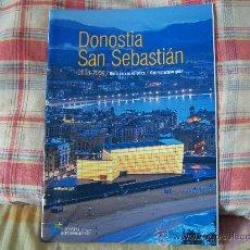 Folletos de turismo: DONOSTIA SAN SEBASTIÁN 2008-2009 GUÍA DE VACACIONES 66PP. Lote 17749708