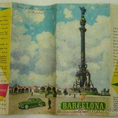 Plano ciudad cuenca oficina turismo 1961 vendido en for Oficina de turismo barcelona