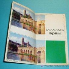 Folletos de turismo: GUIA DE SALAMANCA PUBLICADA POR EL MINISTERIO DE INFORMACIÓN Y TURISMO. 1971. Lote 18157666