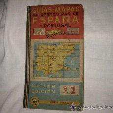 Folletos de turismo: GUIAS MAPAS DE CARRETERAS ESPAÑA Y PORTUGAL AUTOPISTA ULTIMA EDICION Nº 2. Lote 18351889