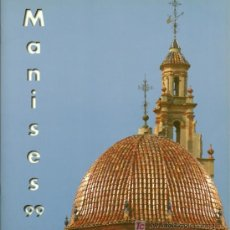 Folletos de turismo: FOLLETO TURÍSTICO MANISES ( VALENCIA ) - 1999. Lote 18525477