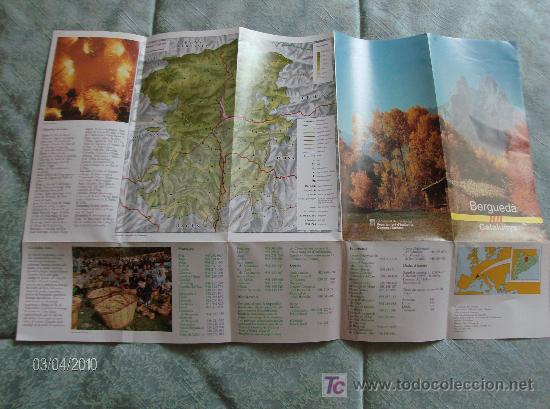 Folletos de turismo: FOLLETO INFORMATIVO BERGUEDÀ - Foto 3 - 18530146