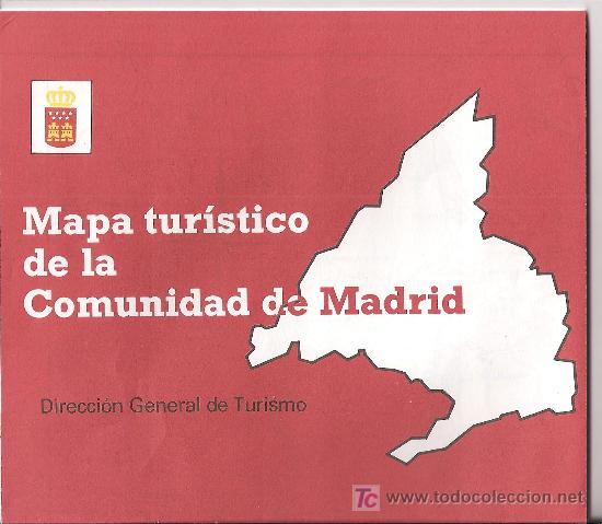 Mapa tur stico de la comunidad de madrid comprar for Oficina de turismo de la comunidad de madrid